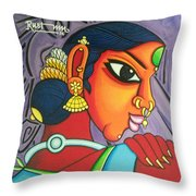Kalavathi Throw Pillow