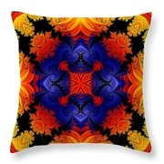 Kaleidoscope 1 Throw Pillow