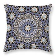 Kaleidoscope 104 Throw Pillow
