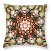 Kaleidoscope 108 Throw Pillow