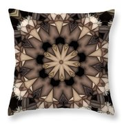 Kaleidoscope 114 Throw Pillow