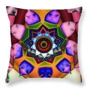 Kaleidoscope 120 Throw Pillow