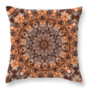 Kaleidoscope 121 Throw Pillow