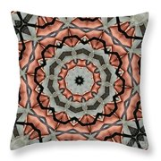 Kaleidoscope 127 Throw Pillow
