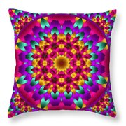 Kaleidoscope 3 Throw Pillow