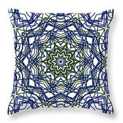 Kaleidoscope 706 Throw Pillow