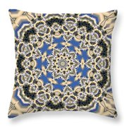 Kaleidoscope 77 Throw Pillow