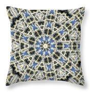 Kaleidoscope 78 Throw Pillow