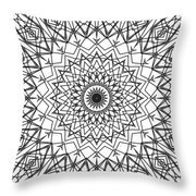 Kaleidoscope 790 Throw Pillow
