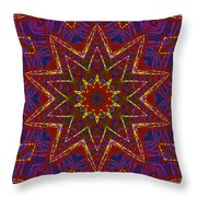 Kaleidoscope 816 Throw Pillow