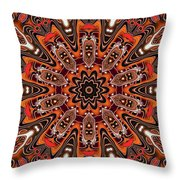 Kaleidoscope 85 Throw Pillow
