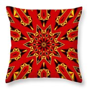 Kaleidoscope 89 Throw Pillow