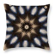 Kaleidoscope 91 Throw Pillow