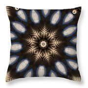 Kaleidoscope 91 Throw Pillow
