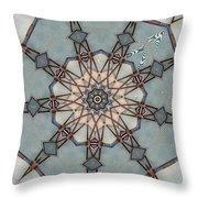 Kaleidoscope 92 Throw Pillow