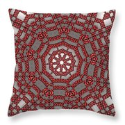 Kaleidoscope 95 Throw Pillow