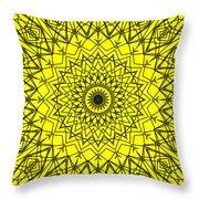 Kaleidoscope 957 Throw Pillow