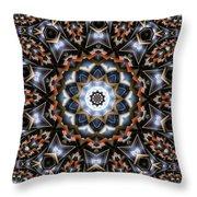 Kaleidoscope 99 Throw Pillow