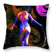 Kaleidoscope Eyes... Throw Pillow