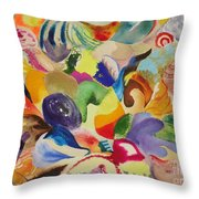 Kaleidoscope I Throw Pillow