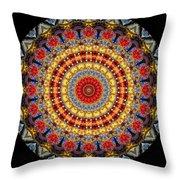 Kaleidoscope No.5 Throw Pillow