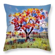 Kaleidoscope Of Colors Throw Pillow