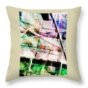 Kaleidoscope Vision Throw Pillow