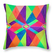 Kaleidoscope Wise Throw Pillow