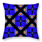 Kaleidoscopes-02 Throw Pillow