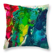 Kalidescope Throw Pillow