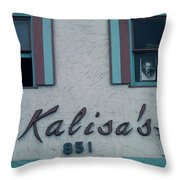 Kalisa's 851 Cannery Row Monterey Throw Pillow