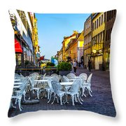 Kalmar At Dusk Throw Pillow