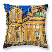 Kalmar Cathedral Exterior Throw Pillow
