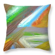 Kambia Town - Sierra Leone Throw Pillow