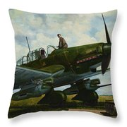 Kamerad Hans - Ulrich Throw Pillow