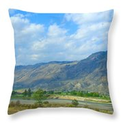 Kamloops  Throw Pillow