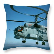 Kamov Ka-27 Throw Pillow