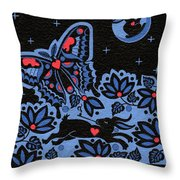 Kamwatisiwin - Gentleness In A Persons Spirit Throw Pillow by Chholing Taha