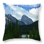 Kananaskis Trail Throw Pillow