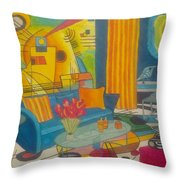 Kandinsky Living Room Throw Pillow
