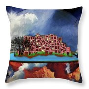 Kandorian Dreams Throw Pillow