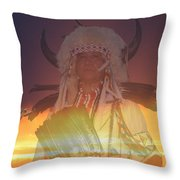 Kaneetawate Throw Pillow