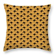 Kangaroo Pattern Throw Pillow