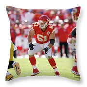 Kansas City Chiefs Throw Pillow