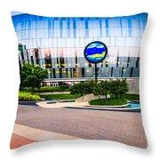Kansas City Sprint Center Throw Pillow