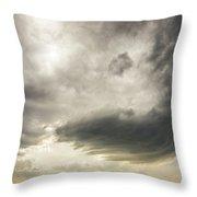 Kansas Storm Chasing 009 Throw Pillow