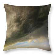 Kansas Storm Chasing 010 Throw Pillow