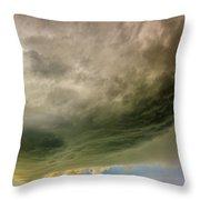 Kansas Storm Chasing 011 Throw Pillow