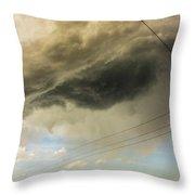 Kansas Storm Chasing 016 Throw Pillow