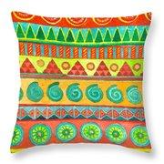 Kapa Patterns 10 Throw Pillow